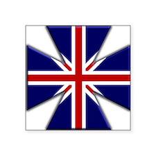 British Steel Oval Sticker