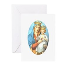 Our Lady of the Sacred Heart Greeting Cards (Packa