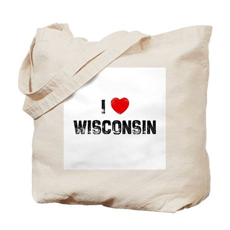 I * Wisconsin Tote Bag