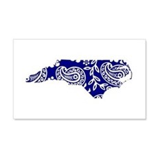 Blue Paisley Wall Decal