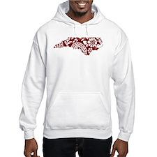 Red Paisley Hoodie