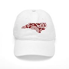 Red Paisley Baseball Cap