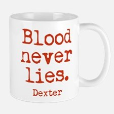 Blood Never Lies Mug