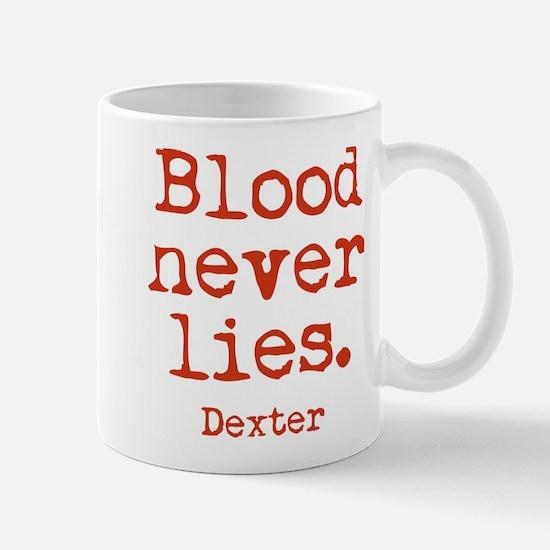 Blood Never Lies Mug