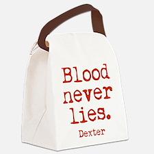 Blood Never Lies Canvas Lunch Bag