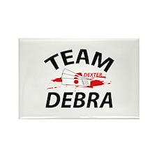 Team Debra - Dexter Rectangle Magnet