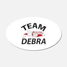Team Debra - Dexter 22x14 Oval Wall Peel