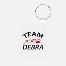 Team Debra - Dexter Keychains