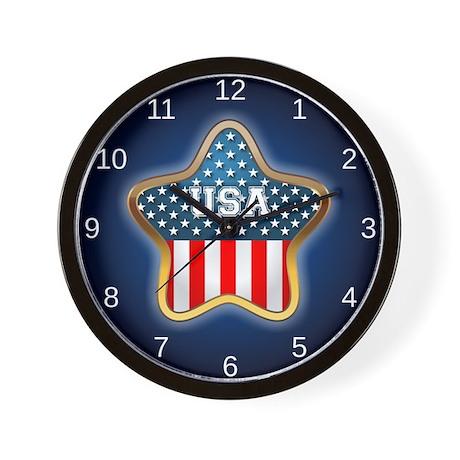 American Star Wall Clock