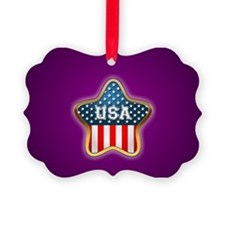 American Star Ornament