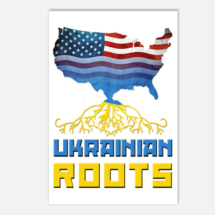 American Ukrainian Roots Postcards (Package of 8)
