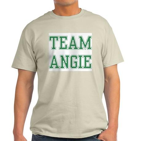 TEAM ANGIE Ash Grey T-Shirt