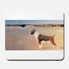 A Bull Terrier Mousepad