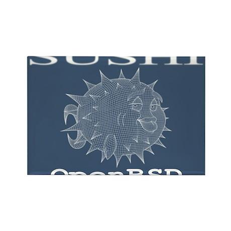 Bsd Fish Rectangle Magnet (10 pack)