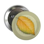 "Elm Leaf 2.25"" Button (10 pack)"