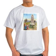 Our Lady of Fatima Ash Grey T-Shirt