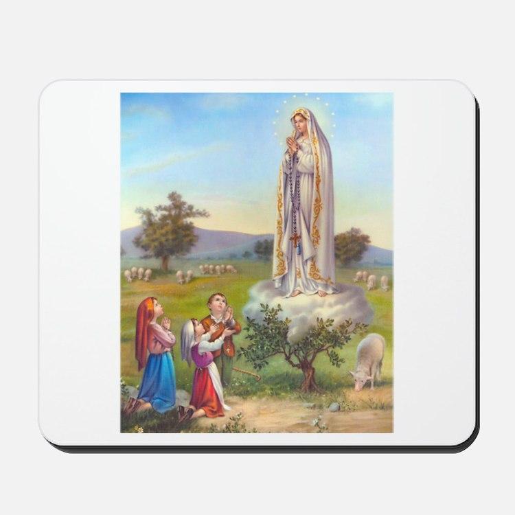 Our Lady of Fatima Mousepad