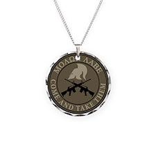 Molon Labe, Come and Take Them Necklace