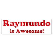 Raymundo is Awesome Bumper Bumper Sticker