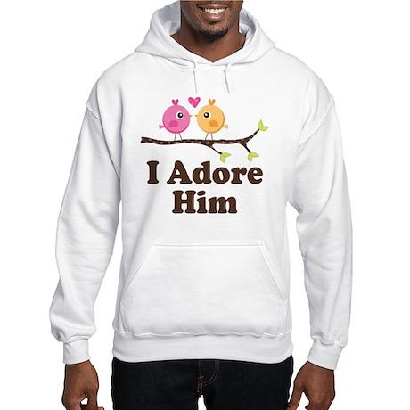 I Adore Him Hooded Sweatshirt