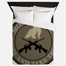 Molon Labe, Come and Take Them Queen Duvet