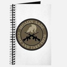 Molon Labe, Come and Take Them Journal
