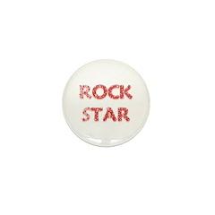 Rock Star Mini Button (10 pack)