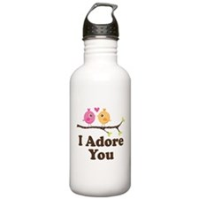I Adore You Dating Gift Water Bottle