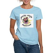 Genius Ninja Ballerina T-Shirt