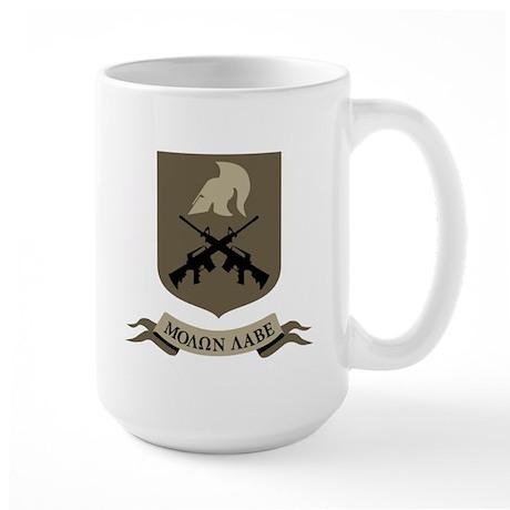 Molon Labe, Come and Take Them Large Mug