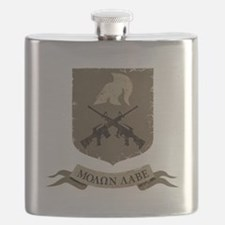 Molon Labe, Come and Take Them Flask
