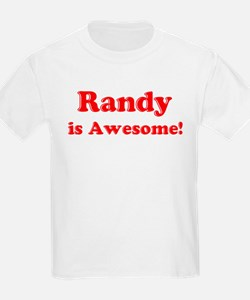 Randy is Awesome Kids T-Shirt