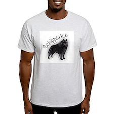 Schipperke 1 Ash Grey T-Shirt