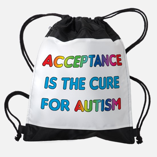 Autism Acceptance Drawstring Bag