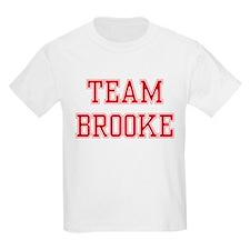 TEAM BROOKE  Kids T-Shirt
