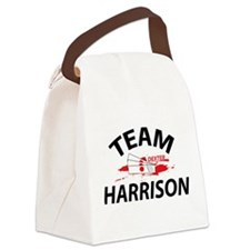 Team Harrison - Dexter Canvas Lunch Bag