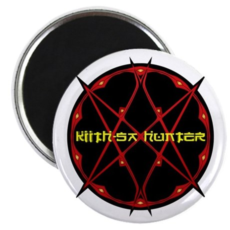 """Kiith-Sa Hunter 2.25"""" Magnet (10 pack)"""