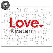 Love Kirsten Puzzle