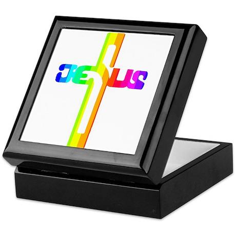 Ezekiel Cross Keepsake Box