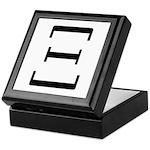 Greek Alphabet Xi Keepsake Box