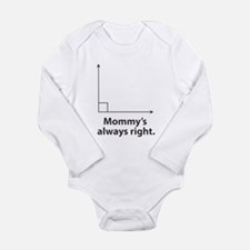 Mommys always right Body Suit