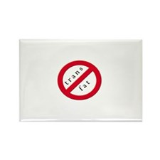 No trans fat! Rectangle Magnet
