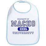 Macho University Bib