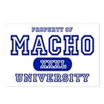 Macho University Postcards (Package of 8)