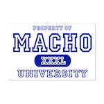 Macho University Mini Poster Print