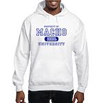Macho University Hooded Sweatshirt