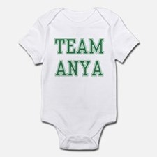 TEAM ANYA  Infant Bodysuit