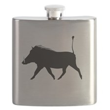 Cute Warthogs Flask