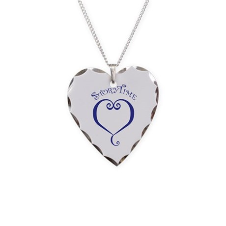 StoryTime Necklace Heart Charm