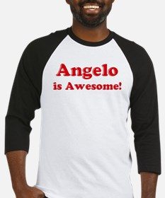 Angelo is Awesome Baseball Jersey